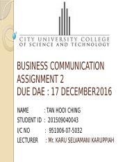 ASSIGNMENT 2-BUSINESS COMMUNICATION.pptx