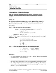 Printables Holt Science Spectrum Worksheets holt science spectrum 84 work and energy math physical s 3 pages gravitational potential e math