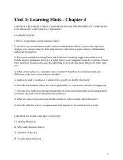 Chapter 4 Learning Objectives.docx