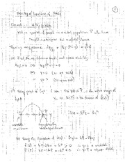 Math 115 Stability of Equilibrium Problems
