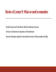 Lect 10 - Structure and Functions of Membrane Proteins- -2014