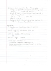 Theoretical-Notes 2