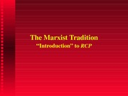 marxtradition