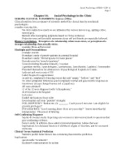 MYERS, Social Psyc, Chp 14 outline-notes
