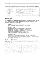 History 5 Syllabus Fall 2014
