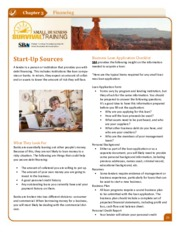 Small Business Survival Training Start Up Sources.pdf