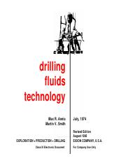 Drilling Fluids Technology