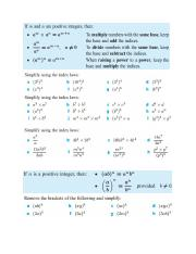 class 03_Laws of Indices