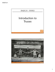Truss Introduction
