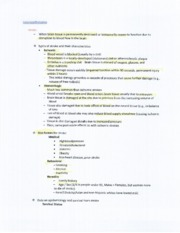SPA4104 Stroke and Tramatic Brain Injury Notes