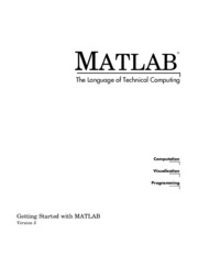 Basic Matlab guide by professor