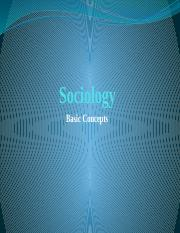 Sociology Basic Concept Fall 2017.pptx