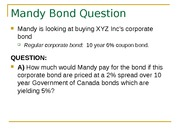 6.4 MANDY BOND QUESTION (SPREADS)
