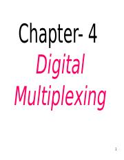 Lecture-14+15+16  Multiplexing by Deepak Sharma.ppt