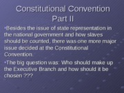 ConstitutionalConventionExectutivebranch