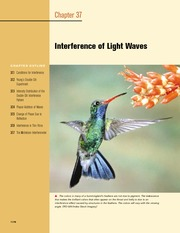 37 - Interference of Light Waves