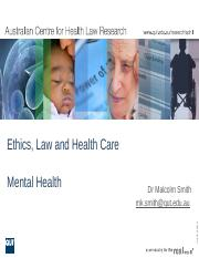 LWS101 - Lecture Slides - Mental Health Law (2)