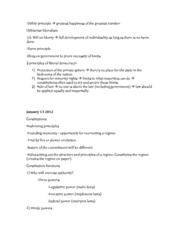 Notes 2: constitutions