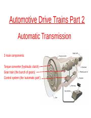Automotive Drive Trains Part 2 (2016-2017).pptx