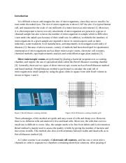 Serial Dilution Lab Report