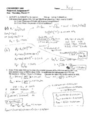 answers Homework 7 (Equilibrium2)