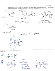 problem 3 solutions on Organic Reaction Mechanisms II