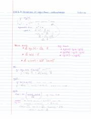 3.7 Derivatives of Logarithmic Differentiation (part 1)