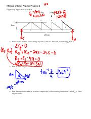 Method of Joints Practice Problem 1 answers.docx
