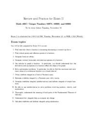 Exam-II-Review