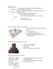 Lecture 3 notes - Teotihuacan II