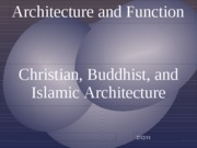 Architecture and Function