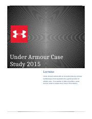 Under Armour Case Assessment-1.docx