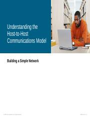 6. Understanding Host-to-Host Communications.pps