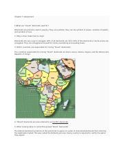 Chapter 7 - AFRICA - Assignment.docx