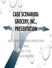 case scenarios grocery inc gap filing rule cereal inc Report on development and enforcement of  competition policy and  inc  unilever de  within five (5) days of such filing, refer the case to the national court.