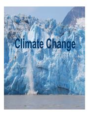 14-15 - Climate Change