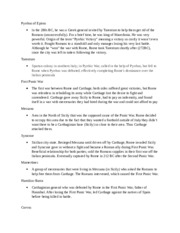 Rise of Rome Study Guide 2