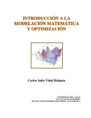 INTRODUCCIoN A LA MODELACIoN MATEMaTICA y la Optimizacion - copia.pdf