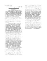 Six paragraph persuasive analysis essay