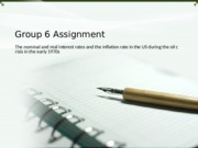 Group 6 Assignment
