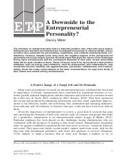 A Downside to the Entrepreneurial Personality Danny Miller (1).pdf