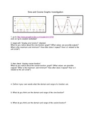 Ch 13-14 Graphing Sine and Cosine Activity