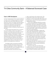 tri cities community bank a balanced View notes - tri-citiescommunitybank from bsa at de la salle university tri-cities community bank - a balanced scorecard case a business case presented to the accountancy department ramon v del.