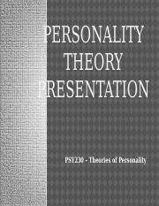 Week 2 Personality Theory Presentation.pptx