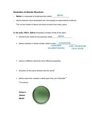 Chapter 2 - Atoms, Ions and Compounds