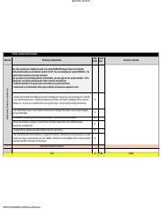 Assignment 6 Rubric