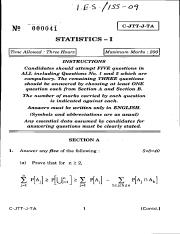 (www.entrance-exam.net)-Indian Statistical Service Sample Paper 3
