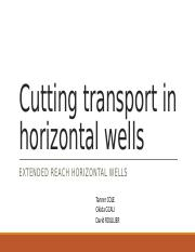 Cutting transport in horizontal wells (5) (1).pptx