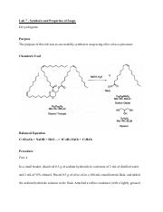 Lab 7 Synthesis and  Properties of Soaps .pdf