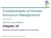 ch13_Employee Safety